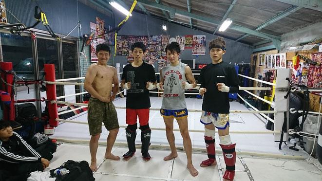 キックボクシング、ムエタイ、大阪の昇龍會へ出稽古