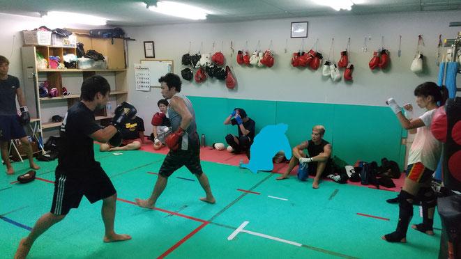 格闘技、キックボクシング、空手、ボクシングの基本から丁寧に指導します。