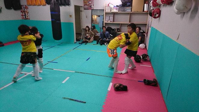 キックボクシング 首相撲 teamYAMATO大和高田本部