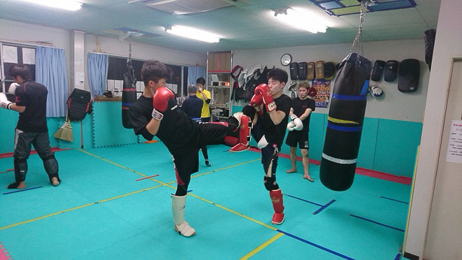 奈良県大和高田市のキックボクシングジム。teamYAMATO大和高田本部。