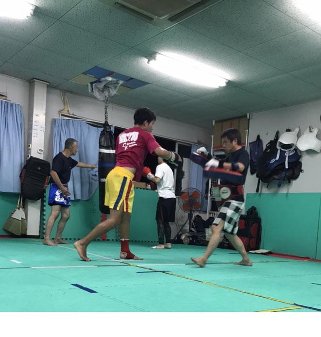 K-1 KURASH キックボクシングの試合に向けての練習
