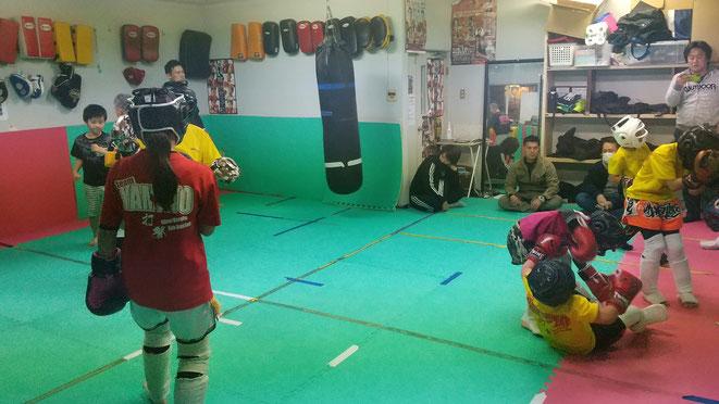 キックボクシングteamYAMATO大和高田本部 奈良県のグローブカラテ道場です。