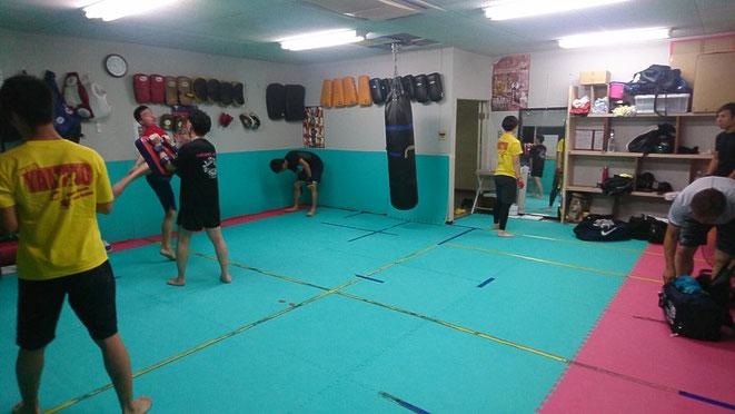 teamYAMATO大和高田本部 キックボクシング一般練習 ダイエット 選手