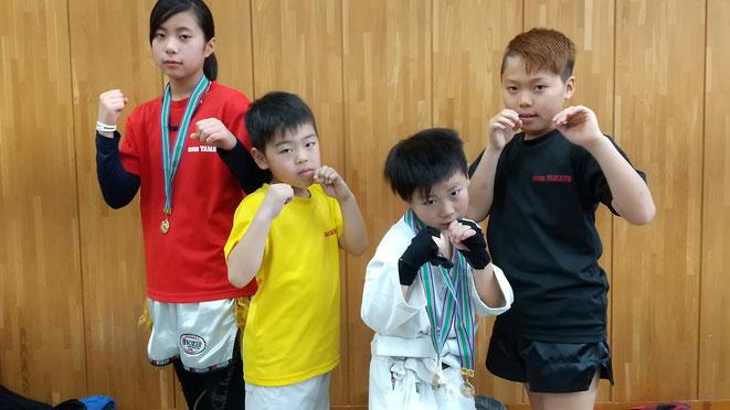 大阪でのキックボクシング試合にteamYAMATO出場。
