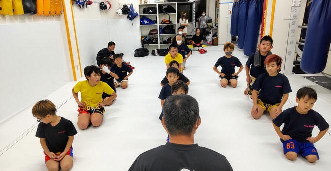 奈良県大和高田市のキックボクシングteamYAMATO大和高田本部では、実戦練習をしています。