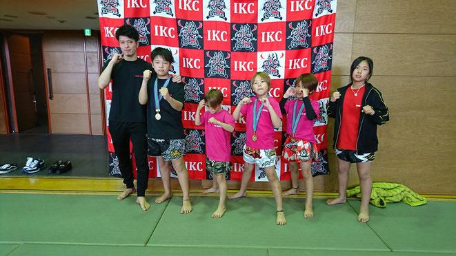 キックボクシング試合、大阪まで行ってきました。teamYAMATO大和高田本部の選手。
