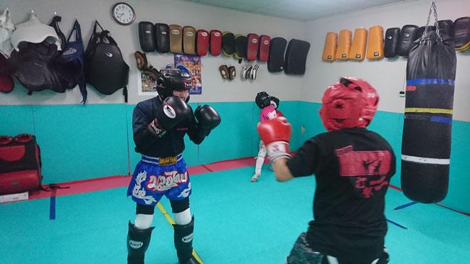 小学生と中学生の習い事。キックボクシング。teamYAMATO大和高田本部