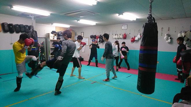 スポーツジム、キックボクシングジム、teamYAMATO大和高田本部