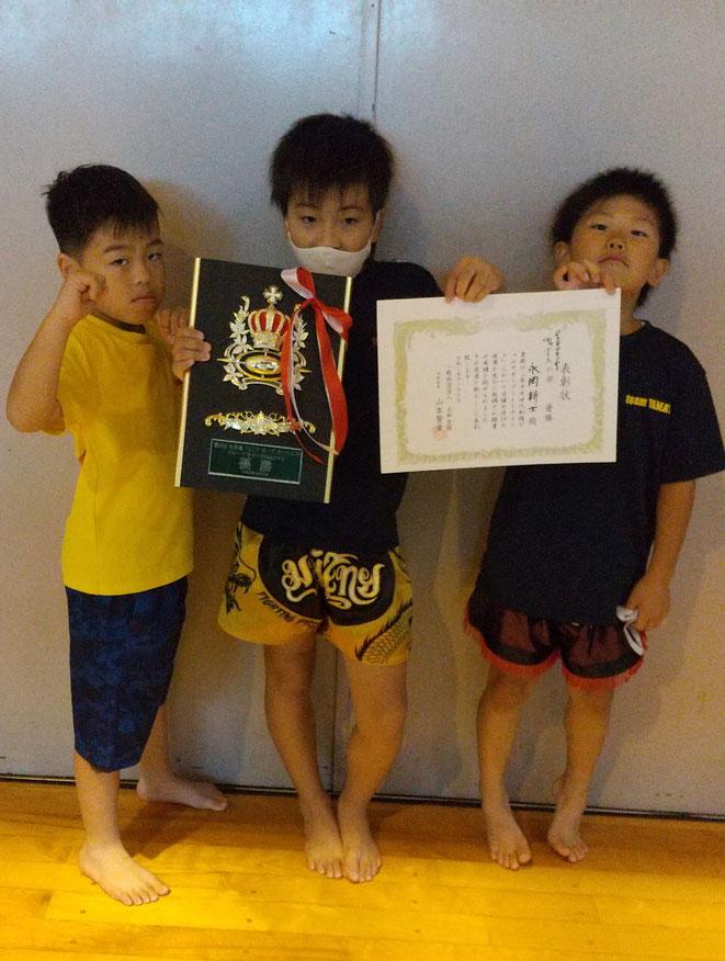 キックボクシング、大和魂、優勝、永岡新士、