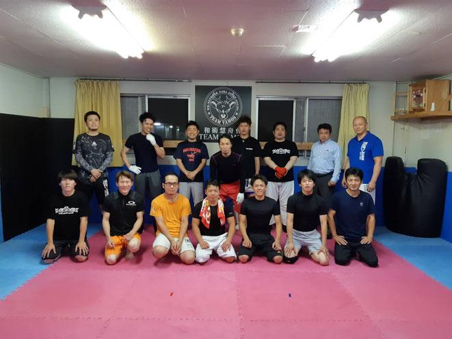 天理市の総合格闘技ジム内試合に出場。teamYAMATOと友好関係ジムです。