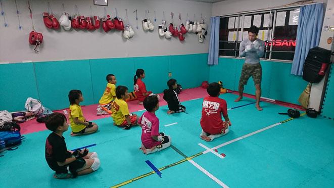 山本真一郎がK-1KURASH出場の報告と応援依頼。と、キックボクシング指導。