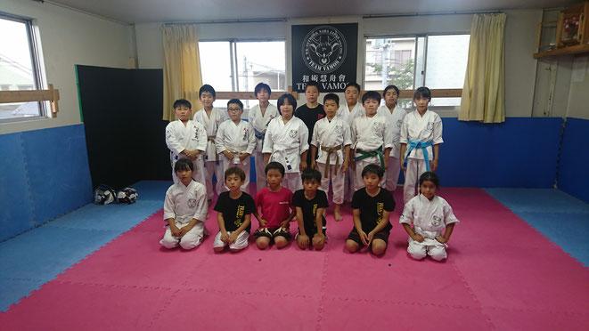 合気道、空手、拳法、キックボクシング、色々な格闘技の試合でした。
