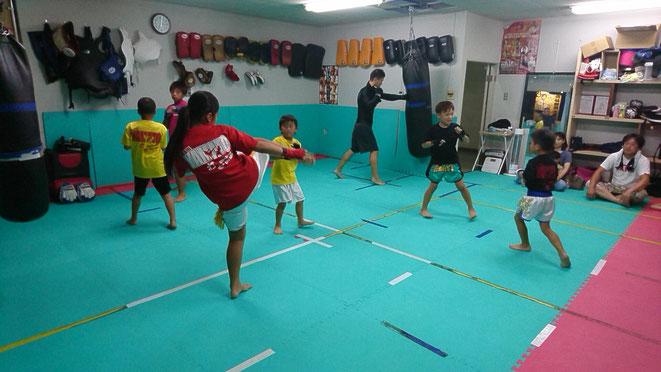 teamYAMATO大和高田本部では、小学生から入会できます。