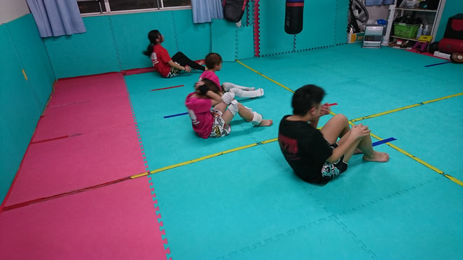 teamYAMATOでは、小学生の基礎体力向上も図っています。