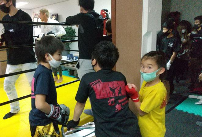 teamYAMATOは、競拳に出場しました。キックボクシングの試合も徐々に増えています。