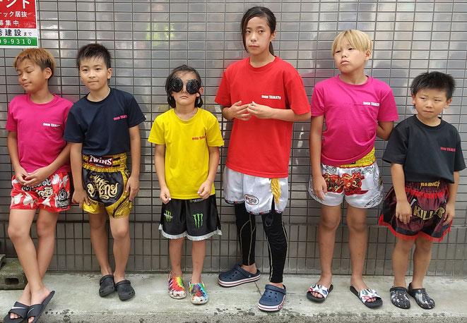 teamYAMATO大和高田本部ではジュニア~一般までキックボクシングを楽しんでいます。