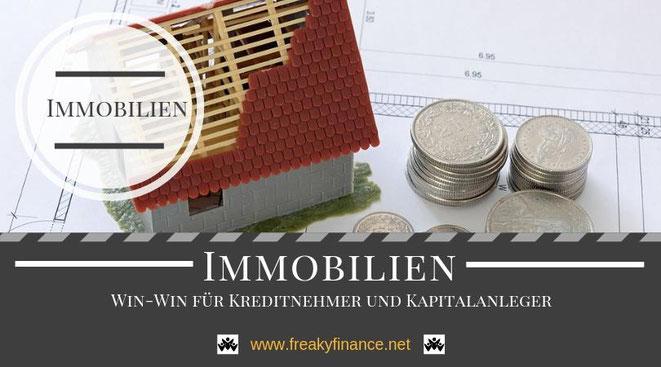 Immobilien, Darlehen, P2P Darlehen - Sicher in Projekte von Privatpersonen mit Immobilieneigentum investieren. @ freaky finance