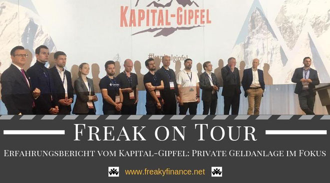 freaky finance on tour: Erfahrungsbericht vom Kapital-Gipfel in München 2019. Bühne frei für die erfolgreichsten Finanzbuch-Autoren und Finanzblogger Deutschlands