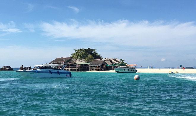 freaky finance, freaky travel, Khai Nai Island, Phang Nah, Meer, Insel, Boote, Strandhäuser