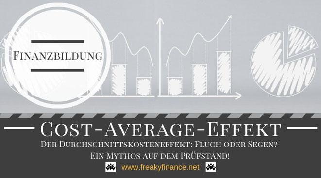 Finanzbildung - Cost-Average-Effekt_ Ein Mythos auf dem Prüfstand, freaky finance, Grundlagen, Digramm, Graphen, Kreisdiagramm, Tortendiagramm