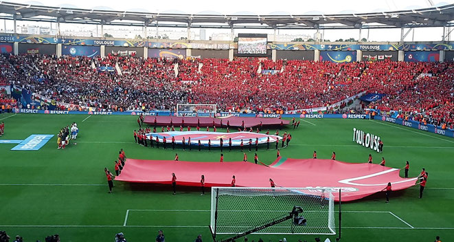freaky travel, freaky finance, Fußball Europameisterschaft 2016, Stadion de Toulouse, Vorrunde, Russland vs. Wales