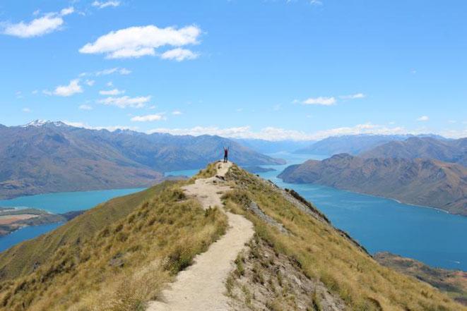 Die 5 Top Tipps für Neuseelands Südinsel. Top 3: Wanaka – Auf zum Roys Peak
