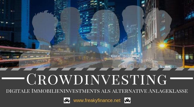 freaky finance: Passives Einkommen durch Immobilien-Crowdinvesting. Investiere gemeinsam mit vielen anderen Investoren in Immobilien und erwirtschafte erfolgreich passives Einkommen durch Diversifikation in der Assetklasse immobilien.