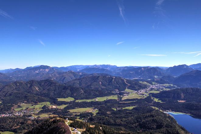 freaky travel, Finanzlady, Gastartikel, Mostviertel, Niederösterreich, Gemeindealpe, Bergpanorama