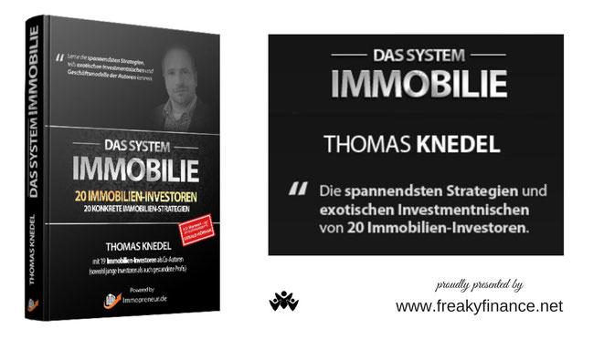 freaky finance, Buchvorstellung, Das System Immobilie, Thomas Knedel