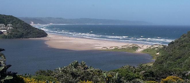 freaky finance, freaky travel, Cintsa, Südafrika, Buccaneers Lodge, Strand, Meer
