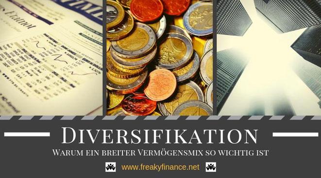 Diversifikation untermauert mit Real-Life-Erfahrungen @ freaky finance