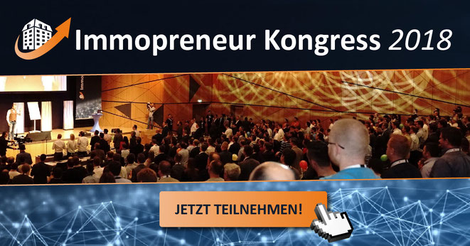 freaky finance, Immopreneur Kongress 2018, Medienpartner, Menschen im Kongresssaal