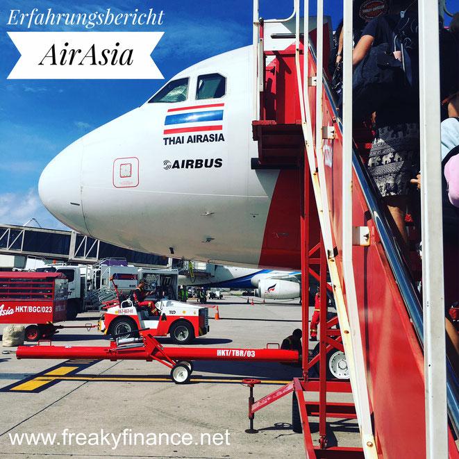 freaky finance, freaky travel, Billigflieger, AirAsia, Flughafen, Phuket, Airbus, A320