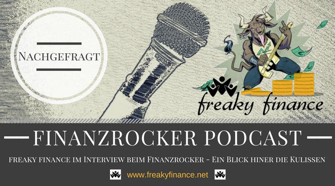 freaky finance, Interview, Podcast, Finanzrocker, Fragen, Talk, Gespräch, Interview, finanzielle Freiheit, Mikrofon