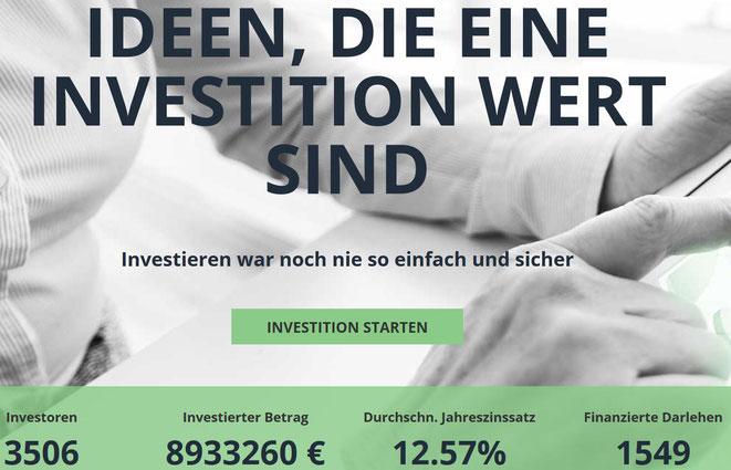 freaky finance, Lenndy, P2P-Kredite, Lenndy Startseite, Lenndy Kennzahlen