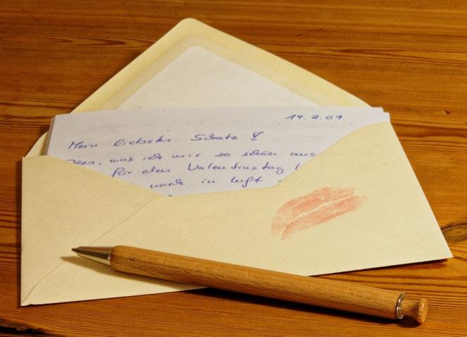 freaky finance, Brief, Liebesbrief, Stift, Umschalg
