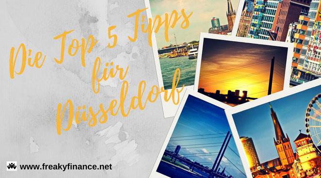 freaky travel, Reisen, TOP 5, Deutschland, Rhein, Düsseldorf, Skyline,City, Ufer, Wasser, Fluss