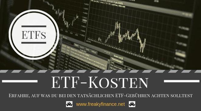 Mit ETFs kostengünstig passiv an der Börse investieren. Erfolgreicher Vermögensaufbau in Eigenregie durch Investitionen in Indexfonds und Aktien @ freaky finance