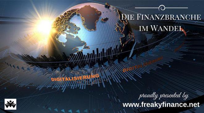 freaky finance, digitaler Wandel, Digitalisierung, Planet Erde mit Sonne im Hintergrund, Buchvorstellung, Florian Müller, der digitale Wandel in der Finanzbranche