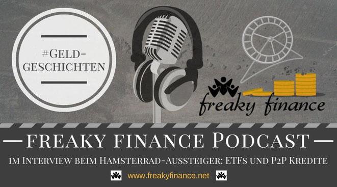 freaky finance, Hamsterrad Aussteiger, Investieren für Anfänger - P2P Kredite und ETF einfach erklärt von Freakyfinance