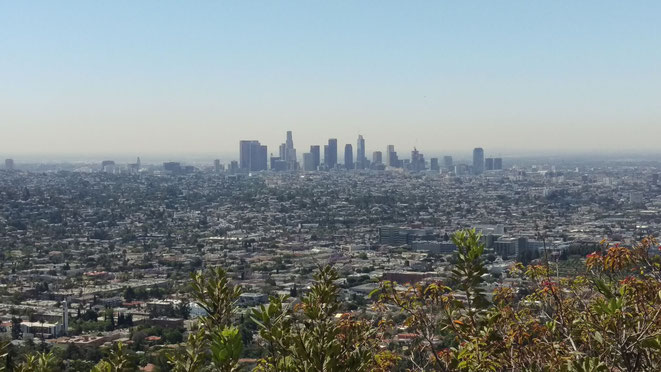 freaky finance, freaky travel, Kalifornien, LA, Griffith Observatory, Skyline, Ausblick, Aussicht