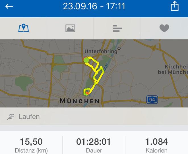 München, runtastic, laufen, Isar, freaky running