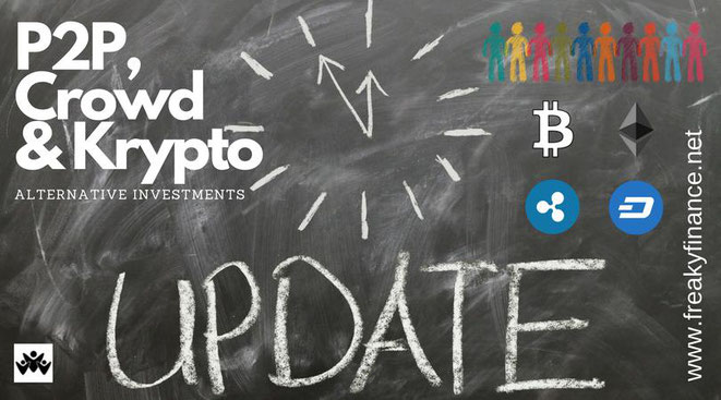 freaky finance, P2P-, Crowd- und Krypto-Update Februar, Februar 2018, alternative Investments, P2P-Kredite, Crowdinvesting, Kryptowährungen