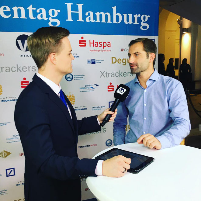 freaky finance, Interview mit Manuel Koch, Inside Wirtschaft, Hamburger Börsentag 2018