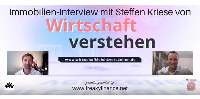 freaky finance, Interview, Steffen Kriese, Immobilien, Wirtschaft verstehen