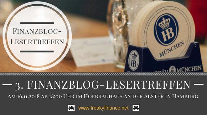 Finanzen & Bier Finanzblogger und Leser im Austausch - 3. Finanzblog-Lesertreffen in Hamburg @freaky finance