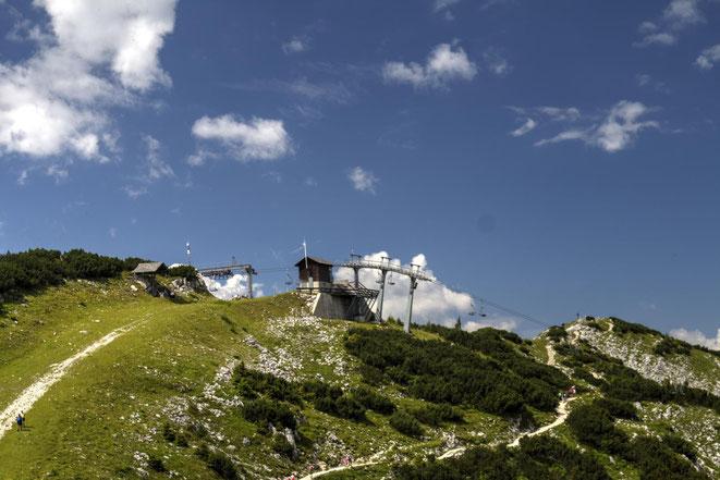 freaky travel, Finanzlady, Gastartikel, Mostviertel, Niederösterreich, Hochkar, Sessellift Bergstation