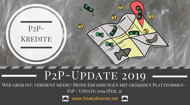 freaky finance, P2P-Update Juni, Juni 2018, alternative Investments, P2P-Kredite, Rendite, Zinsen