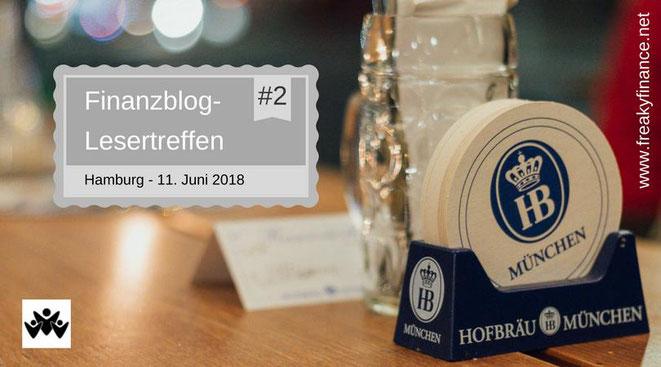 freaky finance, Finazblogleser-Treffen, Hamburg, 11.06.2017, Biertisch im Hofbräuhaus Hamburg, Bierdeckel
