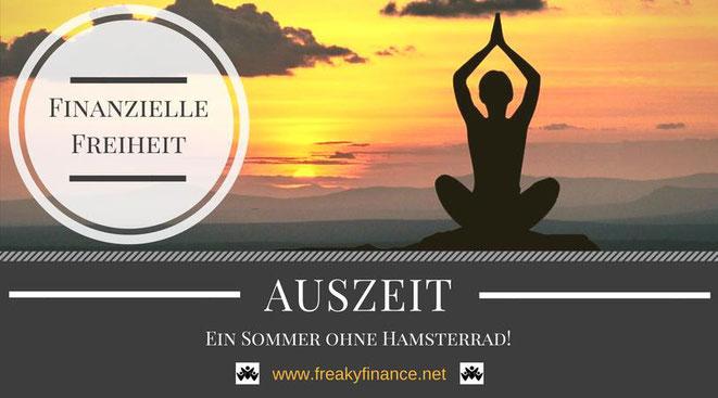 freaky finance, Auszeit, Sabbatical, Sabbatjahr, yoga, meditieren, sonnenuntergang, sonnenaufgang, freiheit, ruhe, horizont